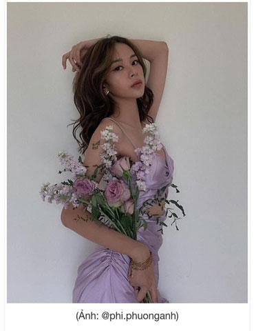 đầm tím lilac