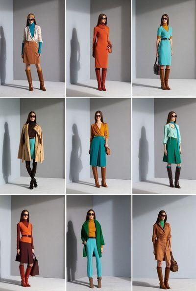 Thời trang phối color block