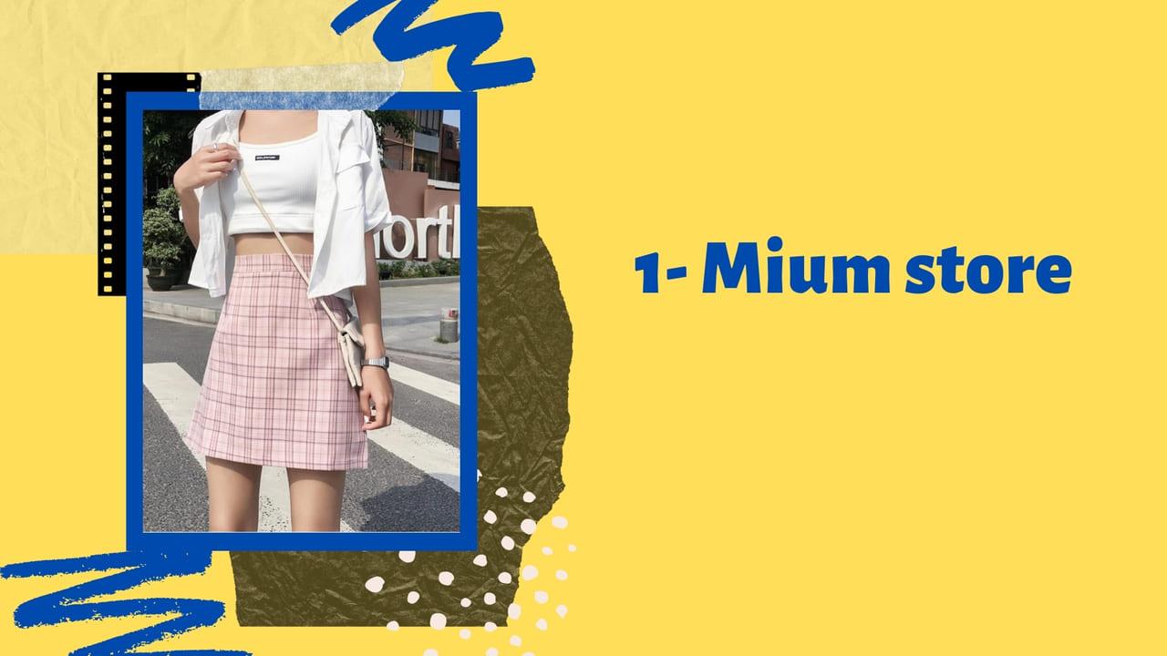 Shop quần áo Đà Nẵng Mium Store