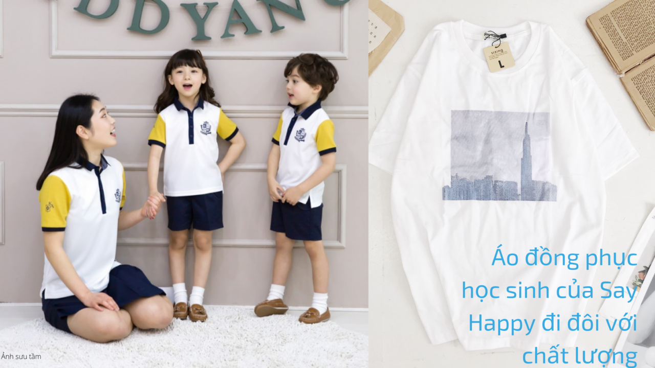 Áo đồng phục học sinh giá rẻ, chất lượng tốt