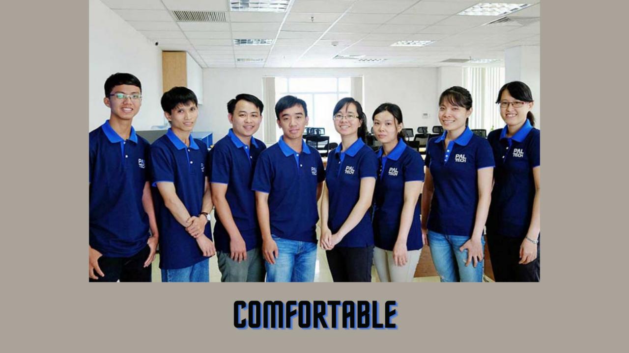 Gia công áo đồng phục công ty theo yêu cầu, phù hợp với tính chất công việc