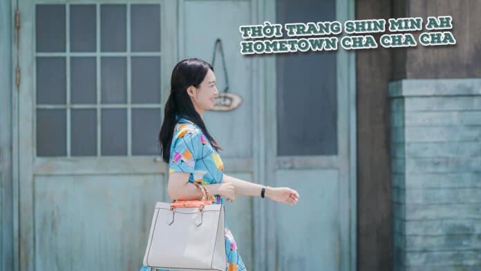 Thời trang của Shin Min Ah trong phim Hometown Cha Cha Cha